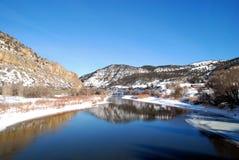 Reflexões do inverno Foto de Stock