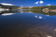 Reflexões do lago Molas Imagem de Stock Royalty Free