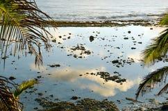 Reflexões do mar Foto de Stock Royalty Free