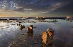 Reflexões do nascer do sol de Coledale Foto de Stock Royalty Free