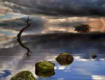 Reflexões do sonho Foto de Stock Royalty Free