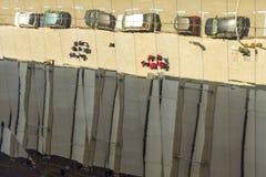 Reflexões em Els Encants Vells, Barcelona Imagens de Stock