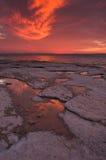 Reflexões na água Imagens de Stock Royalty Free