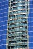 Reflexões na cidade Foto de Stock