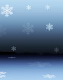 Reflexões nevado Fotografia de Stock