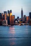 Reflexões no Hudson Foto de Stock Royalty Free