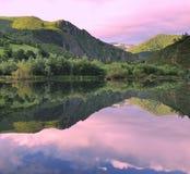 Reflexões no lago. imagem de stock royalty free