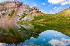 Reflexões no lago Asnos Imagens de Stock