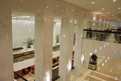 Reflexões no mármore Imagem de Stock