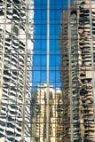 Reflexões no vidro Fotografia de Stock Royalty Free