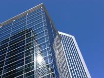 Reflexões no vidro Imagem de Stock