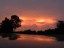 Reflexões quietas Imagem de Stock Royalty Free