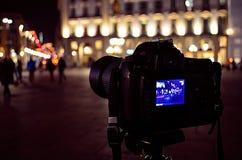 reflex fotografering för bildbyråer