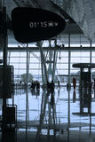 Reflex at the airport Stock Images