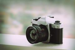 Reflex analog camera Royalty Free Stock Photo