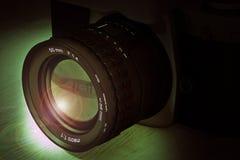 Reflex analog camera Stock Images