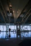 Reflex bij de luchthaven stock foto's
