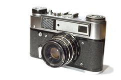 Reflex camera Royalty Free Stock Image