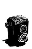 Reflex camera. My old USSR reflex camera Royalty Free Stock Photos