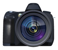 Reflex camera Royalty Free Stock Photos