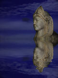Reflex lady statue Stock Images
