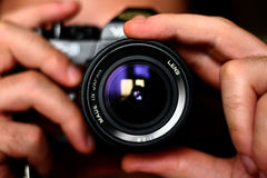 Reflex lens Royalty Free Stock Image