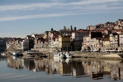 Reflex of oporto Royalty Free Stock Photo