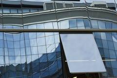 Reflex på fönstren Arkivfoton
