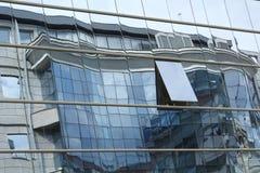 Reflex på fönstren Royaltyfri Foto