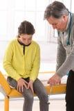 Reflex Symptomatology Child Stock Photo