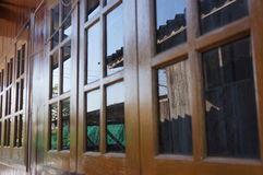 Reflex on windows in Chiangmai Royalty Free Stock Image