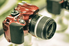 Reflexcamera Royalty-vrije Stock Foto