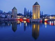 Reflexões de Strasbourg Imagens de Stock Royalty Free