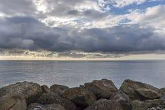 Reflexões no mar Imagem de Stock Royalty Free