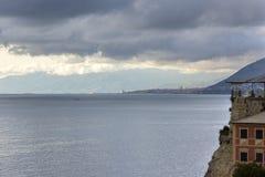 Reflexões no mar Foto de Stock Royalty Free