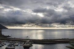 Reflexões no mar Fotos de Stock Royalty Free