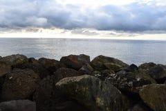 Reflexões no mar Imagem de Stock