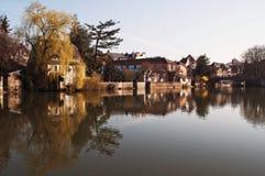 Reflexões no rio Foto de Stock Royalty Free