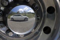 Reflexión 1. del coche. Imagen de archivo libre de regalías