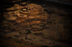 Reflexión anaranjada Imágenes de archivo libres de regalías