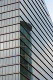 Reflexión Bruselas del edificio de oficinas Fotos de archivo