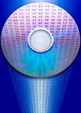 Reflexión CD de los datos Imagenes de archivo