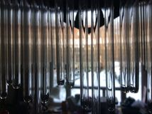 Reflexión de cristal Fotos de archivo libres de regalías