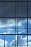Reflexión de cristal Imagenes de archivo