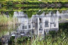 Reflexión de la abadía de Kylemore Foto de archivo