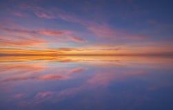 Reflexión de la agua de mar Imágenes de archivo libres de regalías
