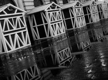 Reflexión de la casa Imagenes de archivo