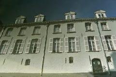 Reflexión de la casa Foto de archivo libre de regalías