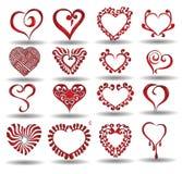 Reflexión de la colección del corazón libre illustration