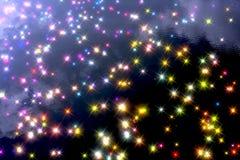Reflexión de la estrella Imagen de archivo libre de regalías